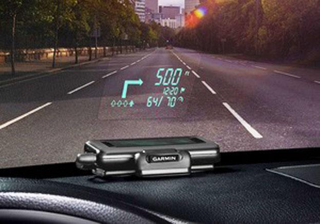 На рынке появился недорогой навигатор с поддержкой проецирования картинки на лобовое стекло