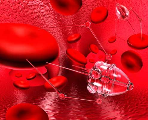 Плавающие нанороботы излечат раковые клетки в человеческом организме