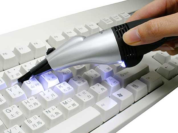 Мини USB пылесос для клавиатуры