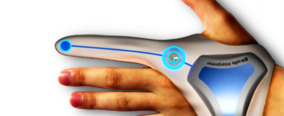 Новый девайс FingerReader для пальца поможет слепым читать в реальном времени